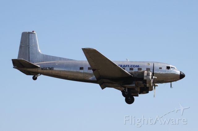 Douglas VC-117 (N587MB) - TMF Aircraft