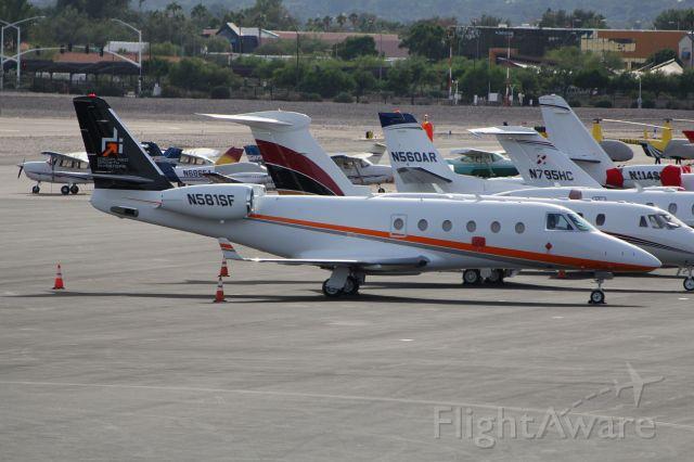 IAI Gulfstream G150 (N581SF)