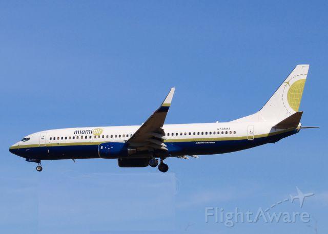 Boeing 737-800 (N738MA) -  At Shreveport Regional.
