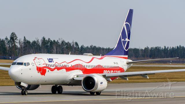 Boeing 737 MAX 8 (SP-LVD)