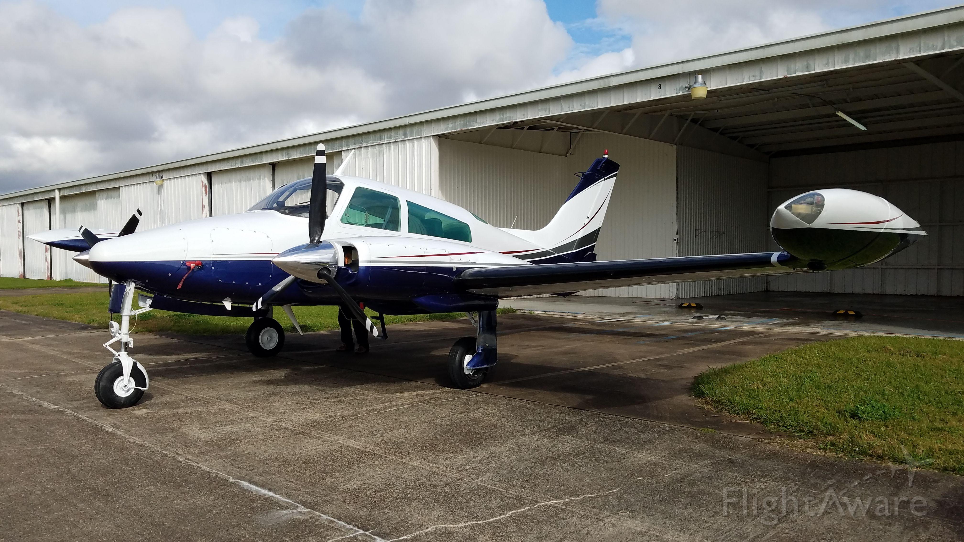 Cessna 310 (N69842) - New Paint Job
