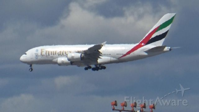 Airbus A380-800 (A6-EOL) - What a colossal plane!!