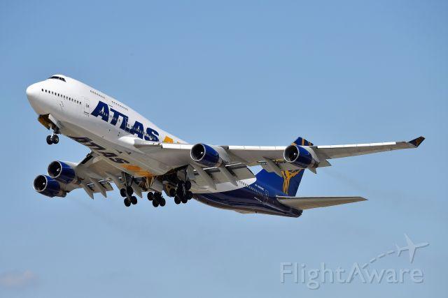 Boeing 747-400 (N480MC) - 23-L 09-25-20