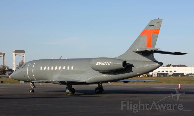 Dassault Falcon 2000 (N850TC)