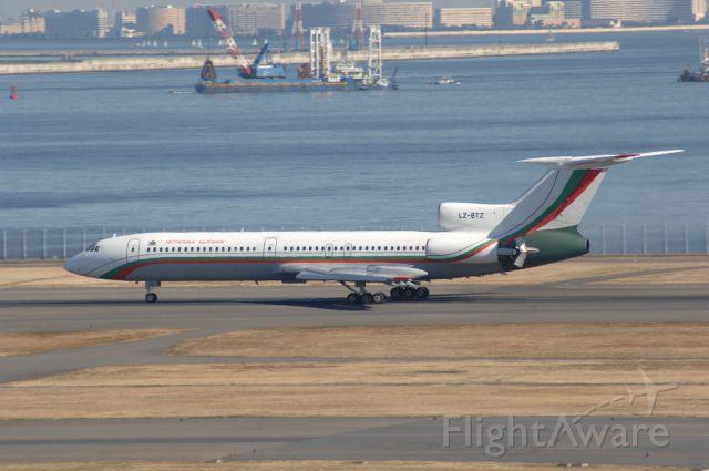 LZ-BTZ — - Landing at Haneda Intl Airport on 34R Bulgaria Gvmt