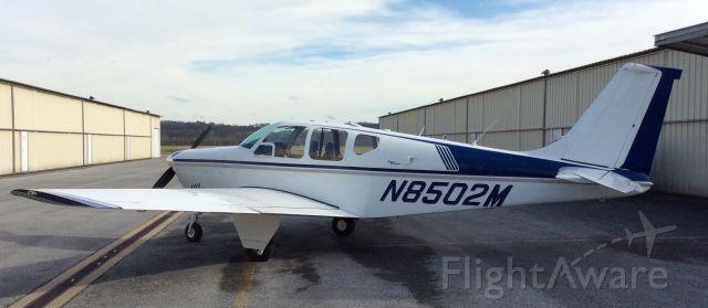 Beechcraft Bonanza (33) (N8502M) - Ready to go!