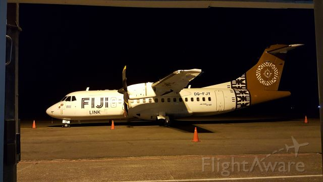 ALENIA Surveyor (ATR-42-500) (DQ-FJY) - I have no idea why this appears upside down Thats not the way I uploaded it