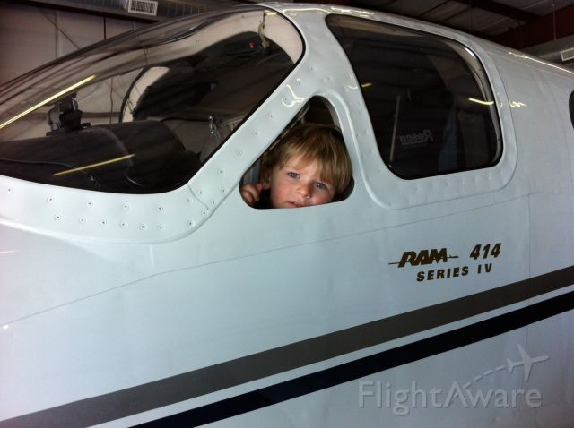Cessna Chancellor (N414TN) - Future Pilot!