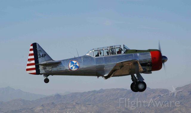 North American T-6 Texan (N6432D) - North American T-6 over Stellar (P19)in Chandler, AZ