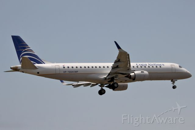 Embraer ERJ-190 (HP1564CMP) - First Copa scheduled flight to NAS/MYNN.