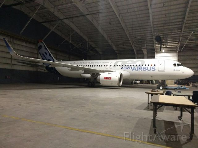 Airbus A320 — - west hanger YX
