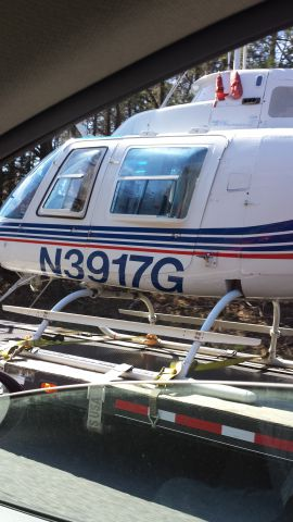 Bell JetRanger (N3917G) - It