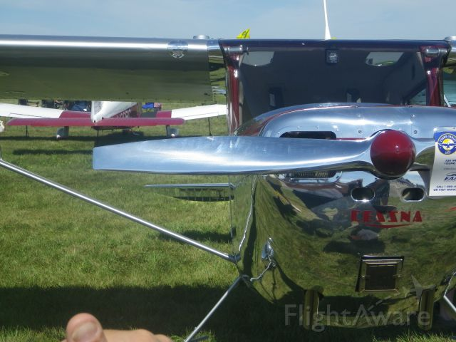 Cessna Skyhawk (N4062N) - On display at Thunder in the Valley air show, Waterloo, IA (KALO) 8.27.11