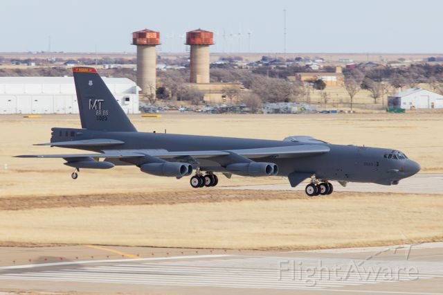 60-0023 — - Boeing B-52 visiting Amarillo for a couple of touch and goes