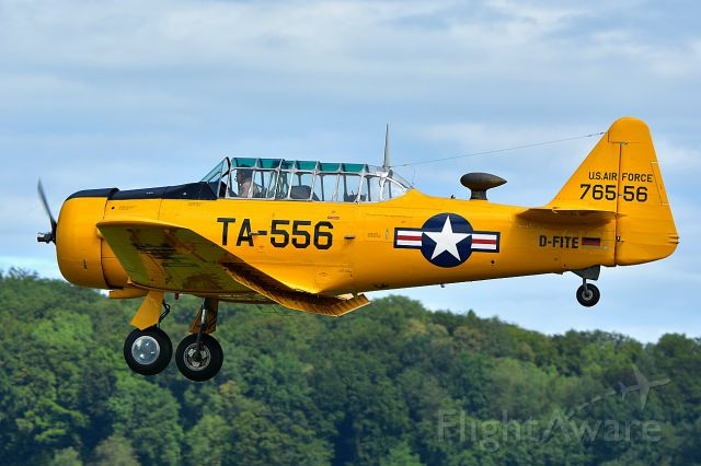 D-FITE — - North American AT-6 Harvard Mk.II, Construction number 76-3556 during CAF Swiss Wing Warbird Fly-Inn 2017 (08-05-2017)