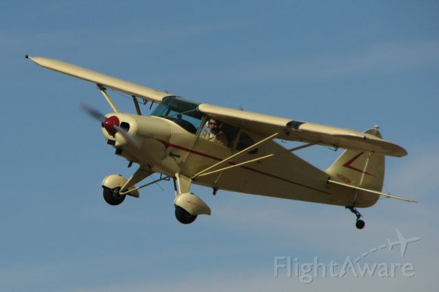 Piper PA-16 Clipper (N5363H) - 1949 Piper Clipper. 4 place taildragger with sticks and no flaps