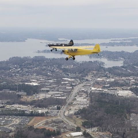 NC51500 — - Over Lake Norman north of Charlotte, NC.