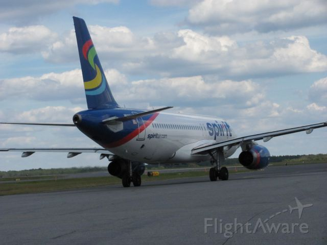 Airbus A320 (N607NK) - heading to KFLL