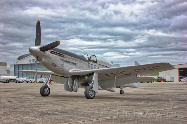 North American P-51 Mustang (NL551CF)