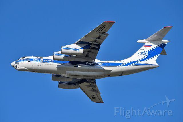 Ilyushin Il-76 (RA-76950) - 23-R Departure for PHNL