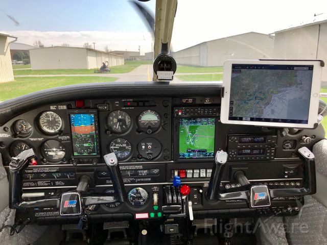 Piper Cherokee (N11CW) - New upgrade of panel.