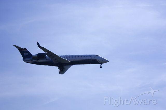 Canadair Regional Jet CRJ-200 (N416AW) - On final for Rwy 19 at KDCA