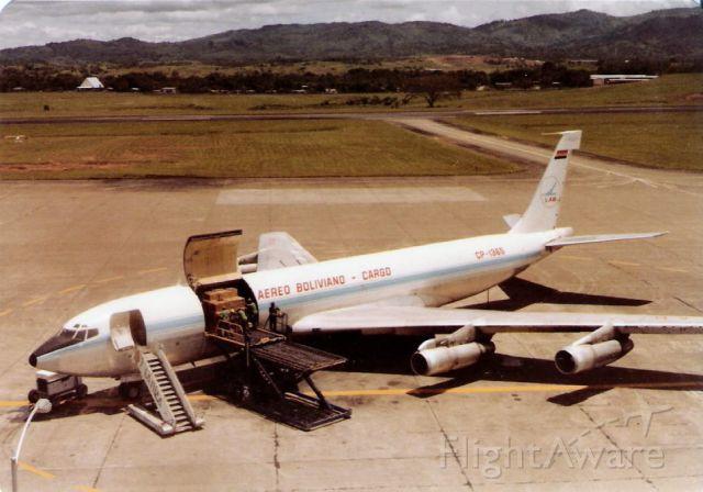 Boeing 707-100 (CPZ1365) - circa 1982