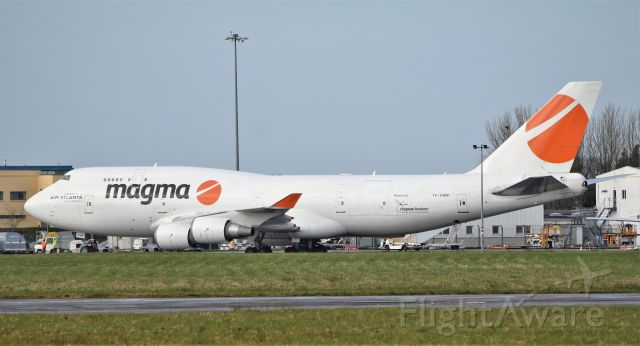 Boeing 747-400 (TF-AMP) - magma b747-481f tf-amp at shannon 11/3/20.