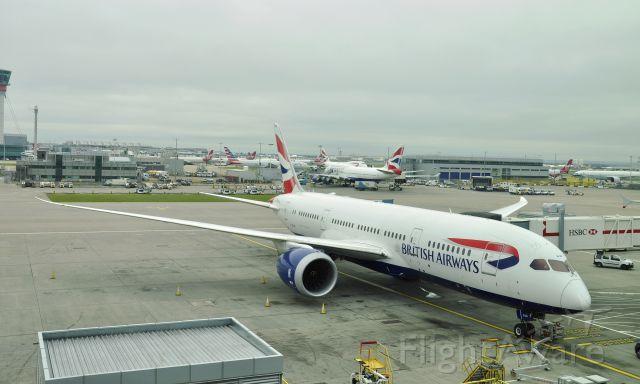 Boeing 787-8 (G-ZBJD) - British Airways Boeing 787-8 Dreamliner G-ZBJD in London Heathrow