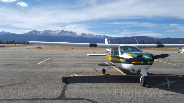 Cessna 177RG Cardinal RG (N35373) - N35373 in the highest public use airport in the US: Leadville Lake County Colorado. Almost 10000ft!