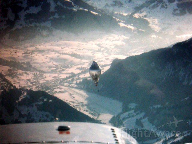 Piper Aztec (FCL27) - Orbiter 3, 1999, Gstaad