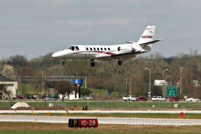 Cessna Citation V (N404MU)