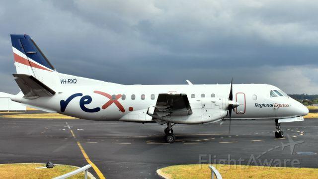 Saab 340 (VH-RXQ) - Regional Express SAAB 340B VH-RXQ (cn 200) at Wynyard Airport Tasmania 20 January 2020.