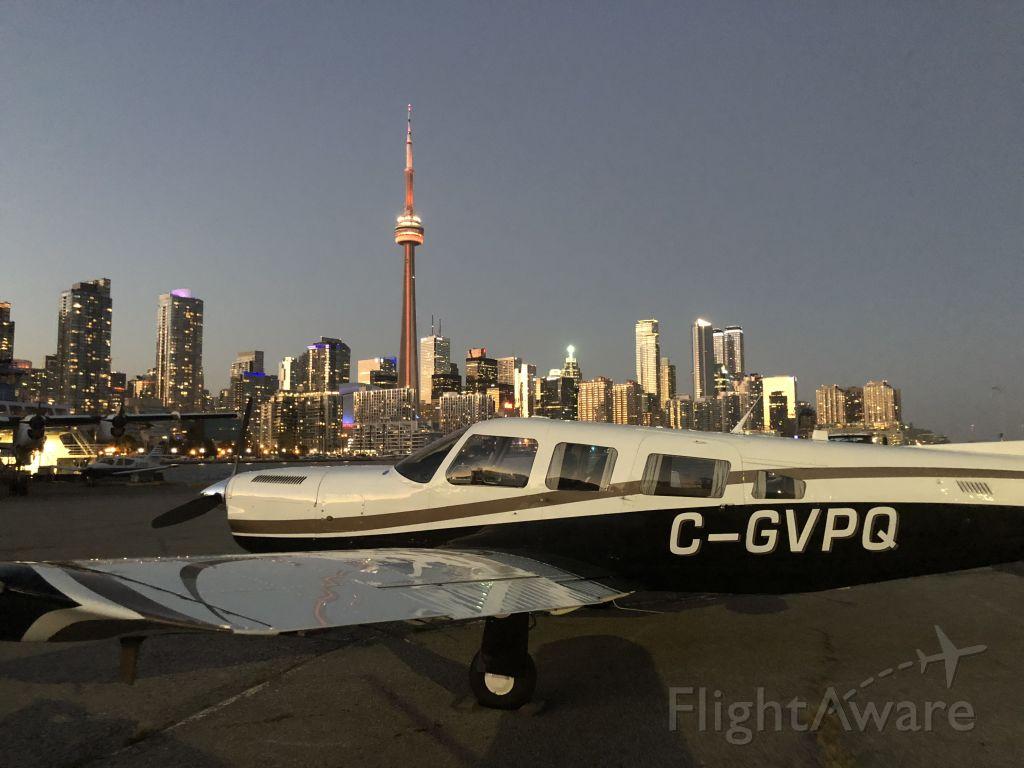 Piper Saratoga (C-GVPQ) - Ramp at FBO Toronto