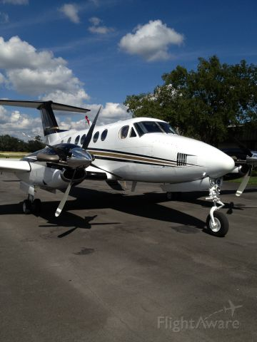 Beechcraft Super King Air 200 (N197AS)