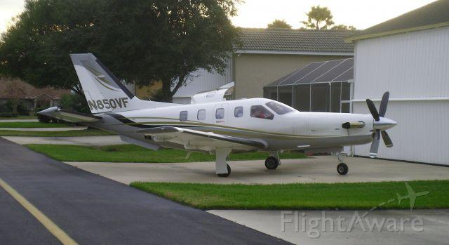 Socata TBM-850 (N850VF) - AT Spruce Creek, FL