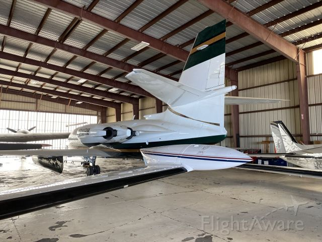 Lockheed Jetstar 2 (N710RM) - Right next to N700RM is...