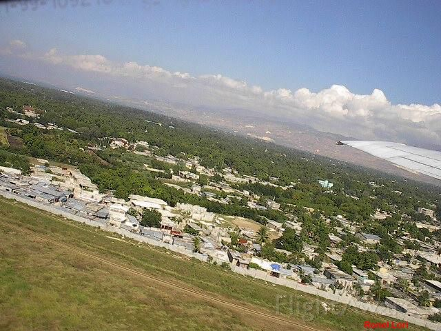 — — - Haiti Landing