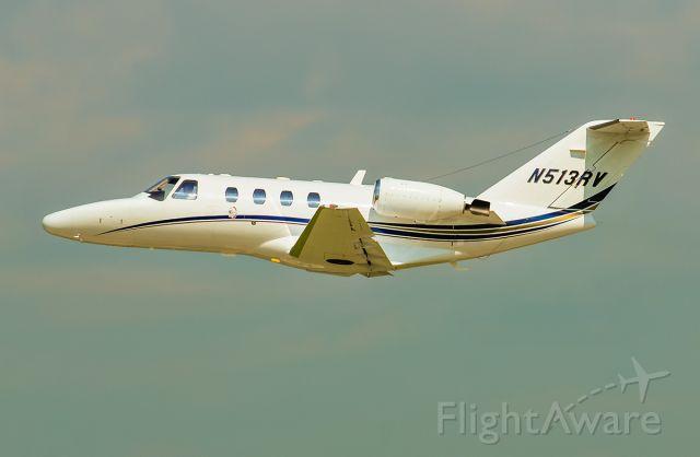 Cessna Citation CJ1 (N513RV) - Departing rwy 23 @KUGN.