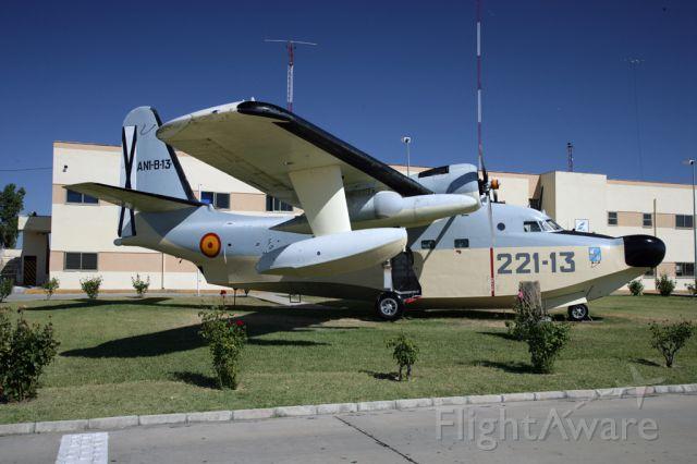 — — - A preserved Grumman Albatros of the Spanish Air Force at Cuatro Vientos