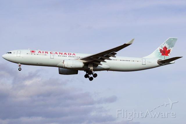 Airbus A330-300 (C-GFAJ) - Air Canada 1528 on final for Rwy 29, upsizing from Toronto for the holiday season to an A333.