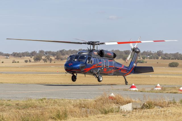 Sikorsky S-70 (N563DJ) - Timberline Helicopters (N563DJ) Sikorsky UH-60A at Wagga Wagga Airport.