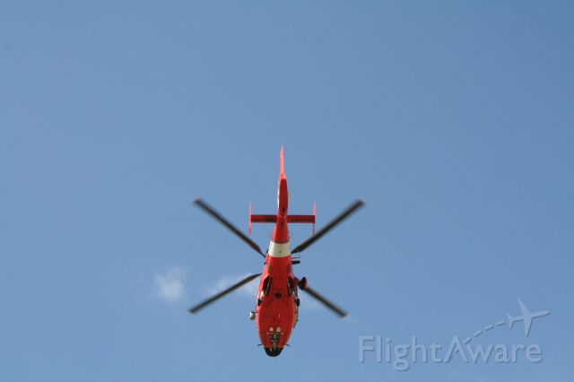 — — - TSTC WACO, Coast Guard HH-65 overflight prior to Presidents Arrival