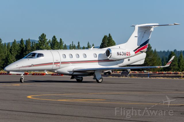Embraer Phenom 300 (N436QS) - NetJets 436 arriving from Santa Barbara (20 July, 2021)