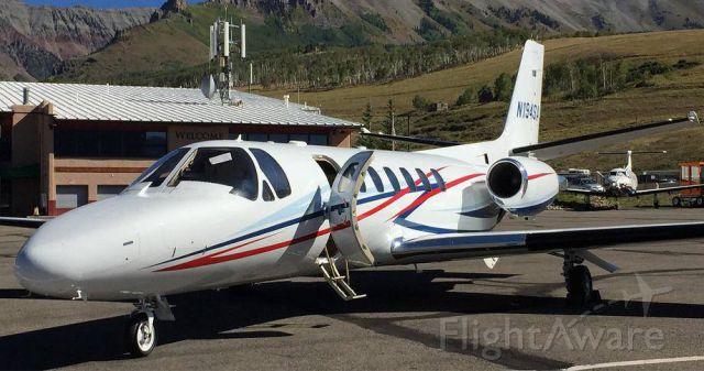 Cessna Citation V (N194SA)