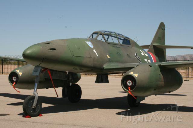 MESSERSCHMITT Me-262 Replica (N262AZ) - Collings Foundation Me 262 B-1c, 20 Apr 13