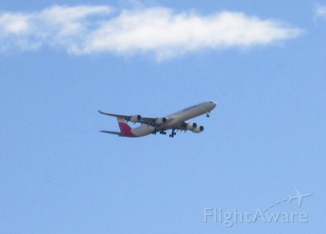 Airbus A340-600 (EC-JBA) - Adios A340<br />Adios A340