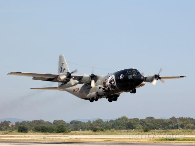 Lockheed C-130 Hercules (BMJ13) - BELGIAN AIR FORCE C130 TAKE OFF TO HYERES TOULON  06.13.14