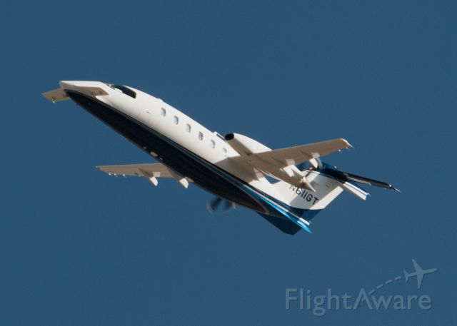Piaggio P.180 Avanti (N611GT) - Aircraft on left cross wind from 27 at Carson City