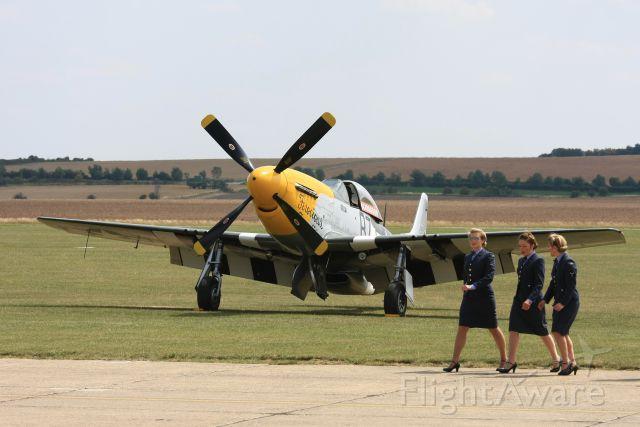 North American P-51 Mustang (G-BTCD) - North American P-51D Mustang 413704/B7-H (cn 122-39608) Built in 1944